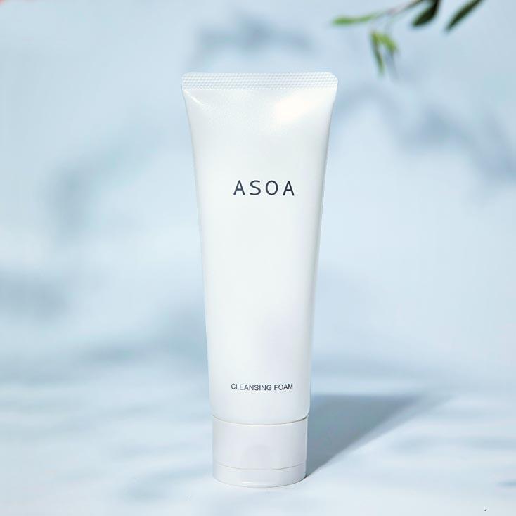 ASOA Cleansing Foam <洗顔料> New!