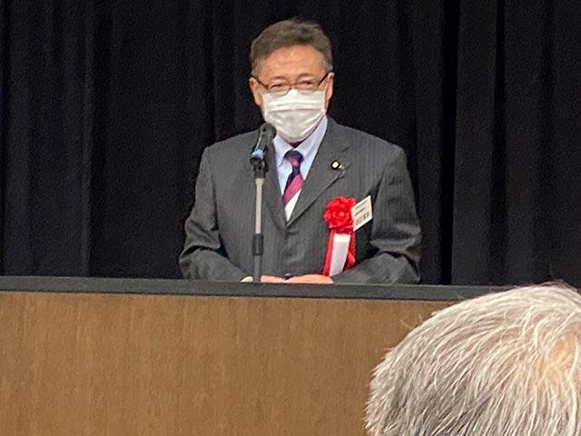 当学会名誉顧問 渡辺喜美参議院議員 | 日本安全保障・危機管理セミナー