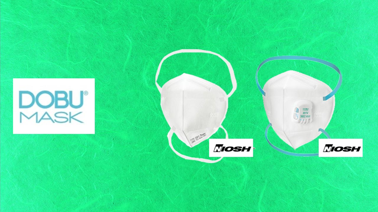 2021年よりDOBU社N95マスクの取り扱いを開始