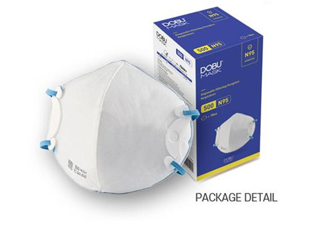 DOBU MASK 500 N95 NIOSH認定 医療用マスク