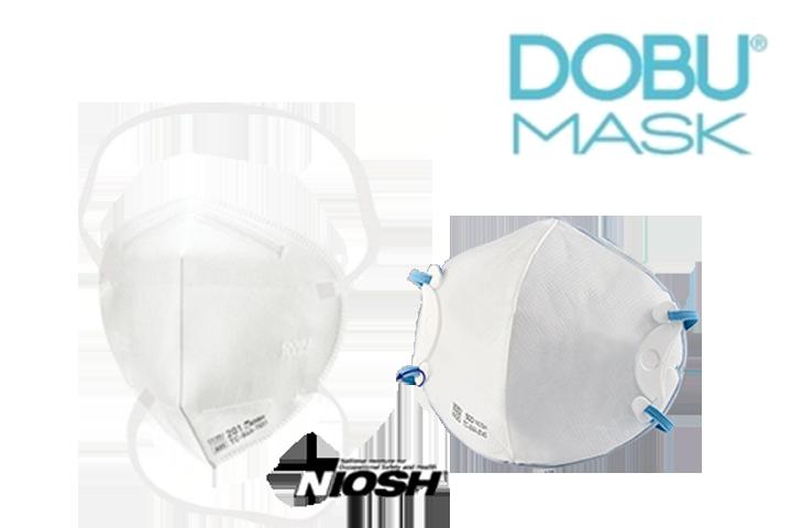 DOBU MASK N95 NIOSH認定医療用マスク